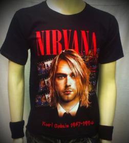 тениска Nirvana 01