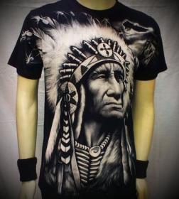 тениска индианец 01