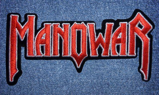 Нашивка Manowar (02)